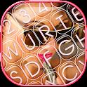 Stylish Photo Keyboard Design icon