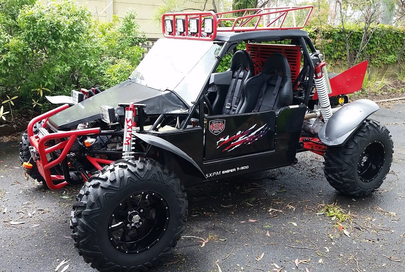 1500cc Sand Sniper Dune Buggy Odes Scorpion Side X Side Offroad 2WD BMS GoKart
