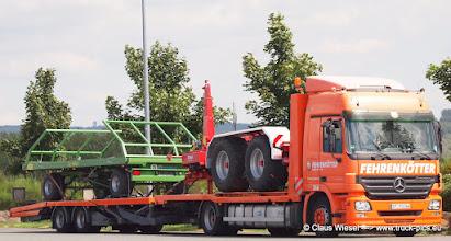 Photo: Fehrenkötter, der Landmaschinen-Transport-Spezialist