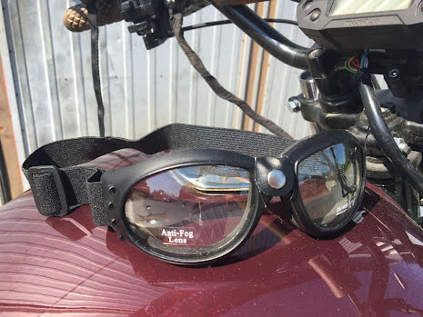 Mc-glasögon från Emgo med anti-fog system