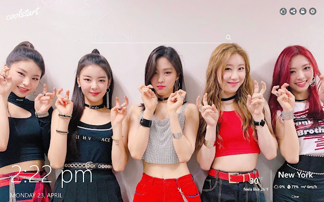 Itzy Hd Wallpapers Kpop Music New Tab Theme