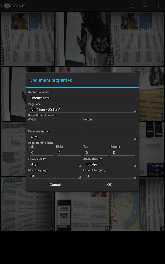 Quick PDF Scanner FREE - screenshot