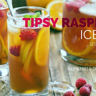 Tipsy Raspberry Iced Tea.