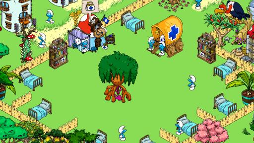 "Игра ""Smurfs' Village"" на Андроид"