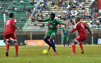 Photo: Kei Kamara  [Leone Stars v Seychelles, Freetown, 19 July 2014 (Pic © Darren McKinstry)]