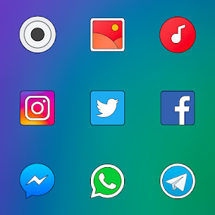 FLYME 7 - ICON PACK Screenshot