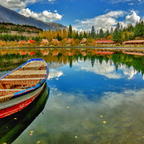 Stunning Shangrilla  by Asmar Hussain - Landscapes Mountains & Hills ( reflection, reflections, mirror, garyfonglandscapes, holiday photo contest, photocontest )