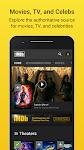 screenshot of IMDb: Movies & TV Show Reviews, Ratings & Trailers