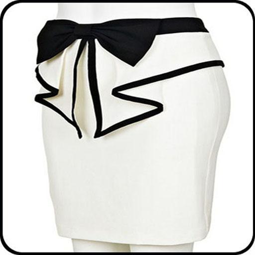Modern Skirt Design Idea