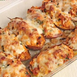 Chorizo Stuffed Sweet Potatoes Recipe