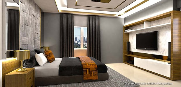 Gold Residences, Paranaque bedroom