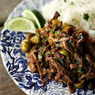 Ropa Vieja {Cuban Shredded Beef} Recipe