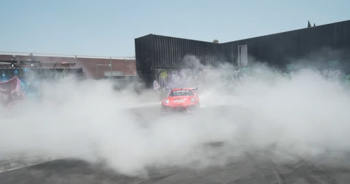 Watch BBi Autosport rip some celebratory donuts in a Pikes Peak-winning Porsche