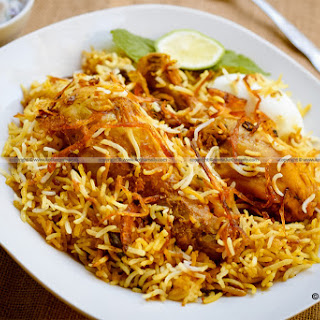 Chicken Biryani Without Yogurt Recipes.