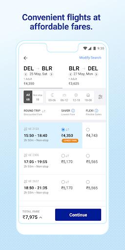 IndiGo-Flight Ticket Booking App 5.0.56 Screenshots 2