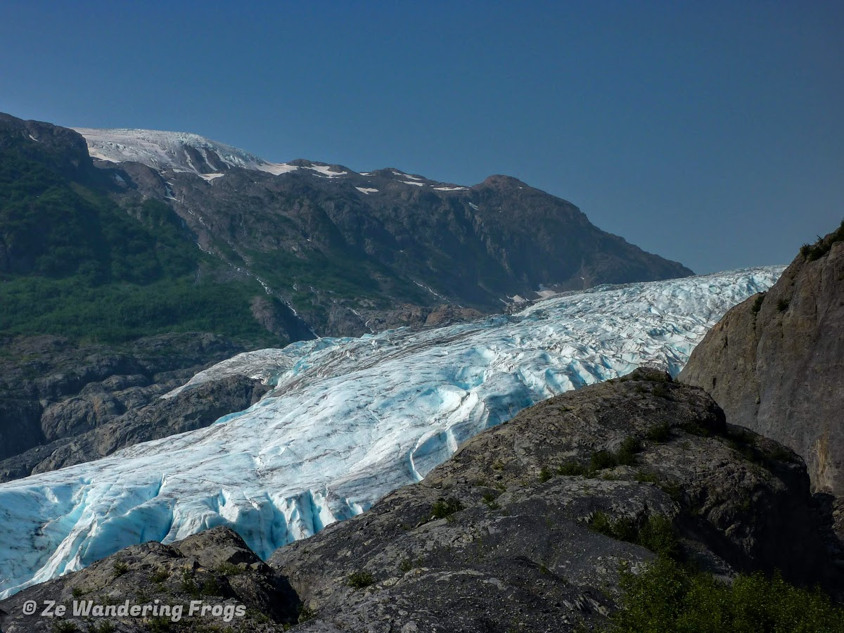 USA Alaska Itinerary 7 Days // Kenai Fjords National Park Exit Glacier