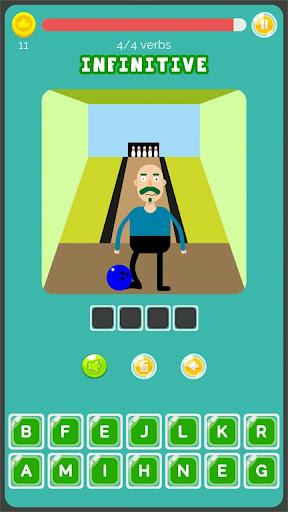 Irregular Verbs English Game 1.321 screenshots 6