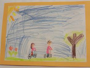 """Photo: praca Mai : """" Jeździmy rowerem bo ... to proste """""""