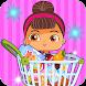 Daily Shopping Supermarket Girls-Cashier