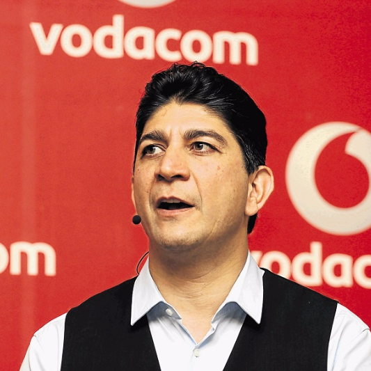 Vodacom CEO Shameel Joosub. Picture: MARTIN RHODES/BUSINESS DAY