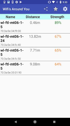 Wifi Strength Meter Pro screenshot 2