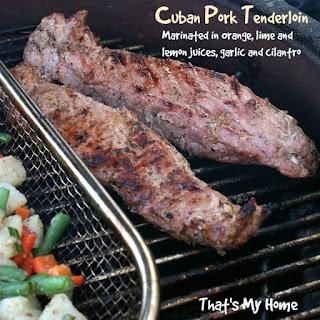 Cuban Pork Tenderloin.