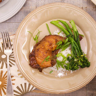 Ayesha Curry's Oven-Roasted Brown Sugar Chicken.