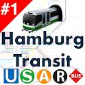 Hamburg Transport - Offline HVV DB times and plans icon