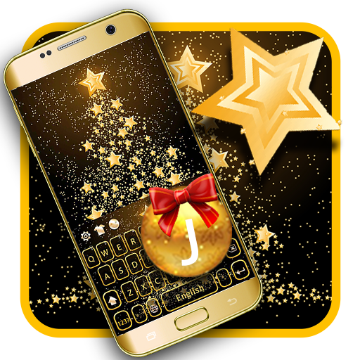 Gold Christmas Tree app (apk) free download for Android/PC/Windows