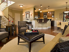 Photo: The living area in The STUYVESANT model home at Greyledge Estates in Albany, New Yorke