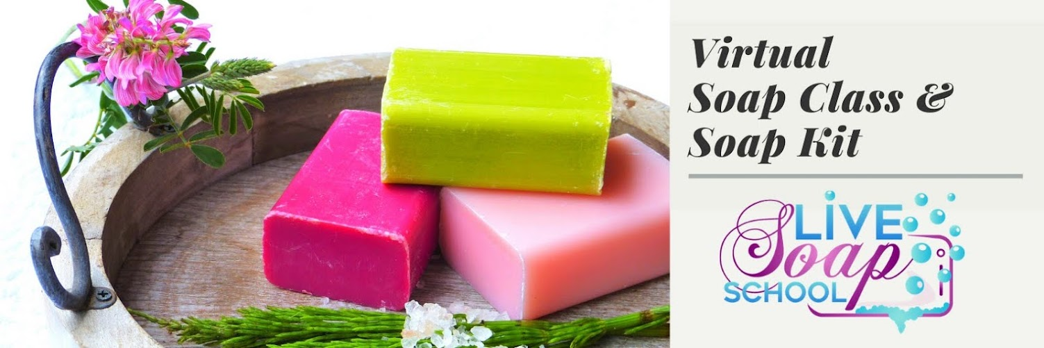 Virtual Soap Class with Soap Kit
