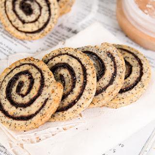 Pinwheel Poppy Seeds Cookies