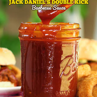 Jack Daniels Double Kick Barbecue Sauce.