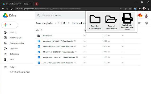 gDrivePrint - Google Drive Print Folder