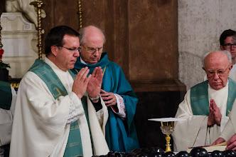 Photo: Orgelweihe in der Kirche Maria am Leech (Leechkirche) in Graz am 20.01.2013 durch Bischof Egon Kapellari