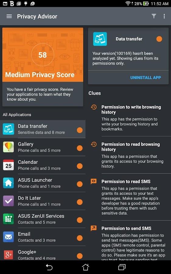 Mobile Security & Antivirus- screenshot