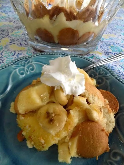 Sherry's Old Fashioned Homemade Banana Pudding