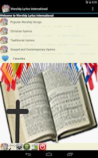 Worship Lyrics International