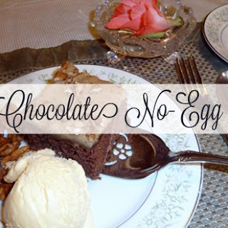 Ruth's Chocolate No-Egg Cake