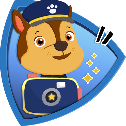 Chase Pawsome Camera Patrol : Stickers and Emojis