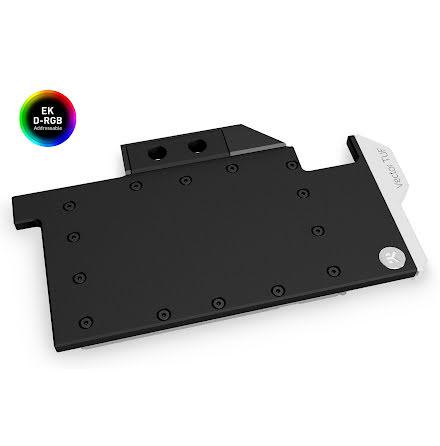 EK vannblokk for skjermkort, EK-Quantum Vector TUF RTX 3080/3090 D-RGB - Nickel + Acetal
