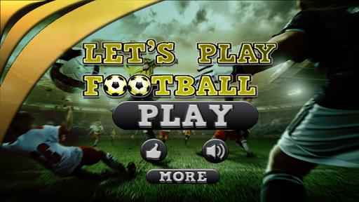 Lets Play Football 3D