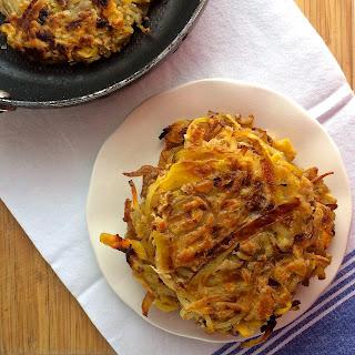 Apple & Caramelized Onion Potato Pancakes