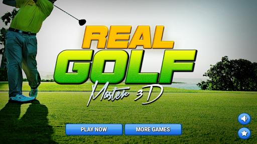 玩免費體育競技APP|下載Real Golf Master 3D app不用錢|硬是要APP