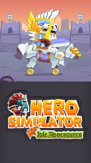 Hero Simulator: Clicker Game- screenshot thumbnail