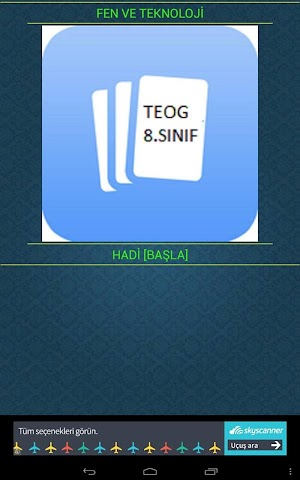 android FEN VE TEKNOLOJİ (TEOG)8.SINIF Screenshot 5
