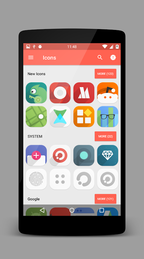 Flui icon pack- screenshot