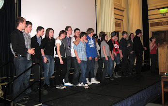 Photo: Award ceremony - Outburst Youth Group
