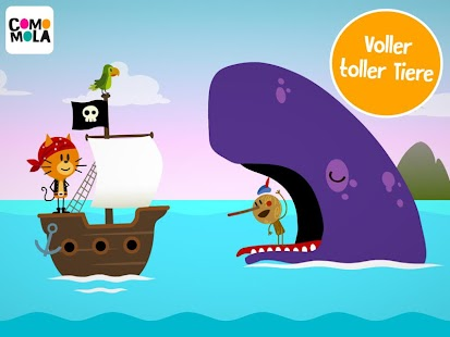 Comomola Pirates Screenshot