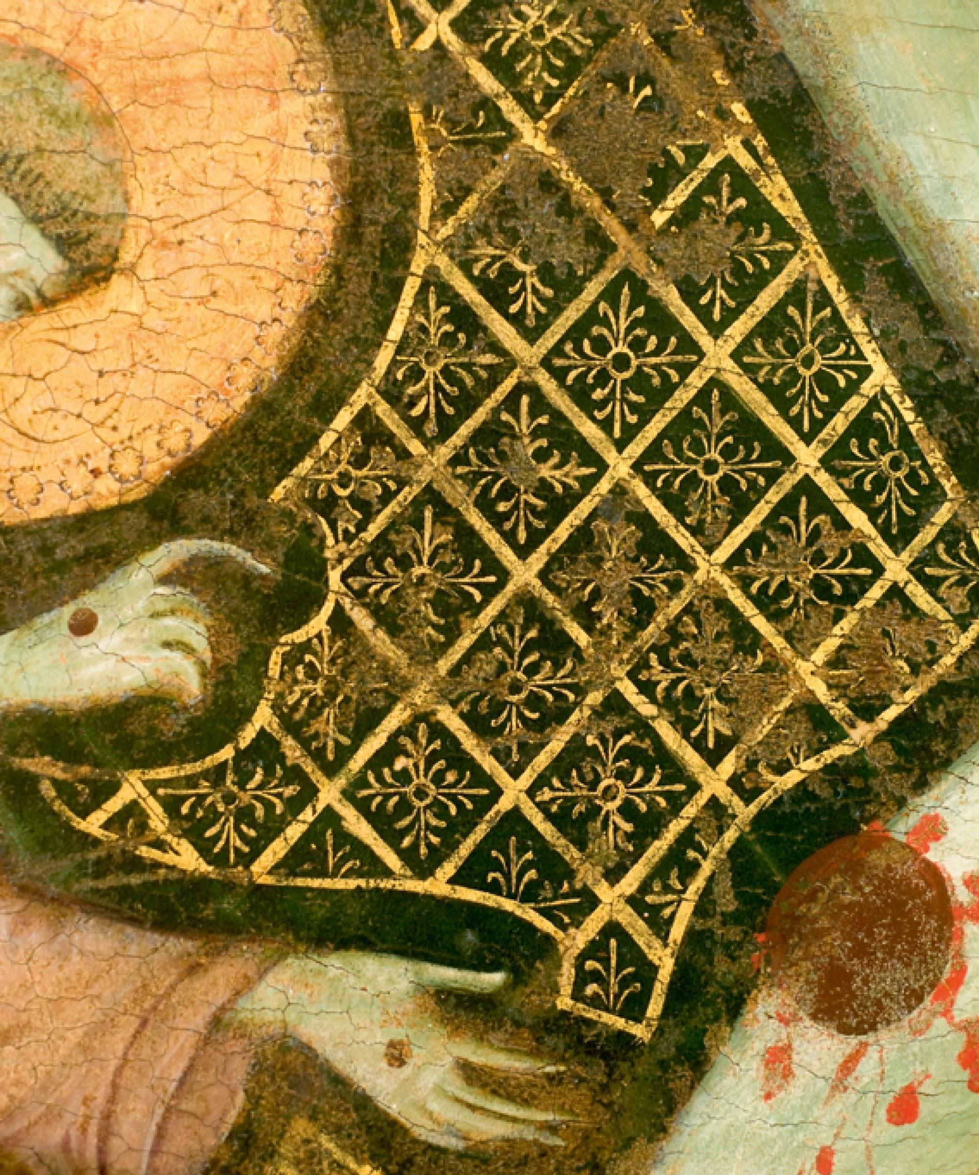 Maestro di San Francesco, 1272, particolare, Galleria nazionale dell'Umbria, Perugia